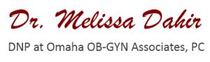 Logo Dr. Melissa Dahir
